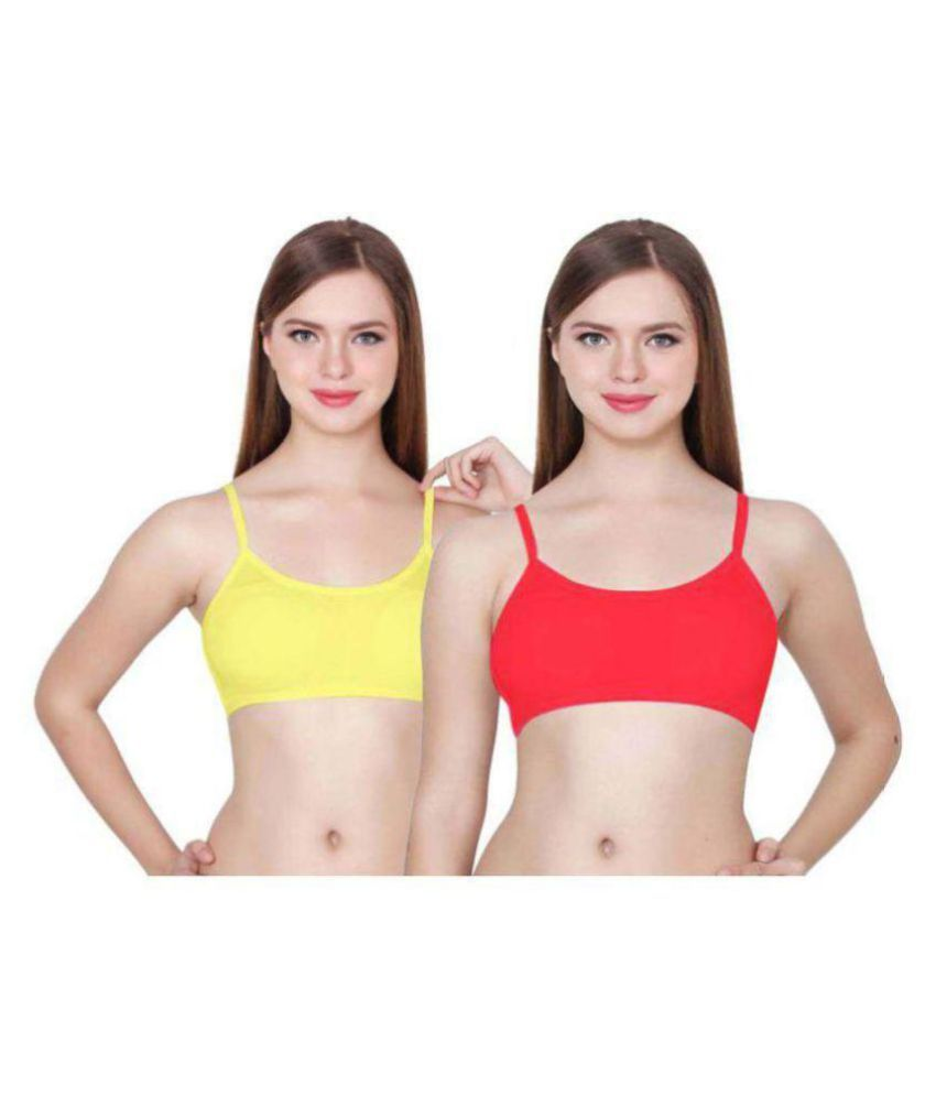 Hippon Poly Cotton Sports Bra - Multi Color