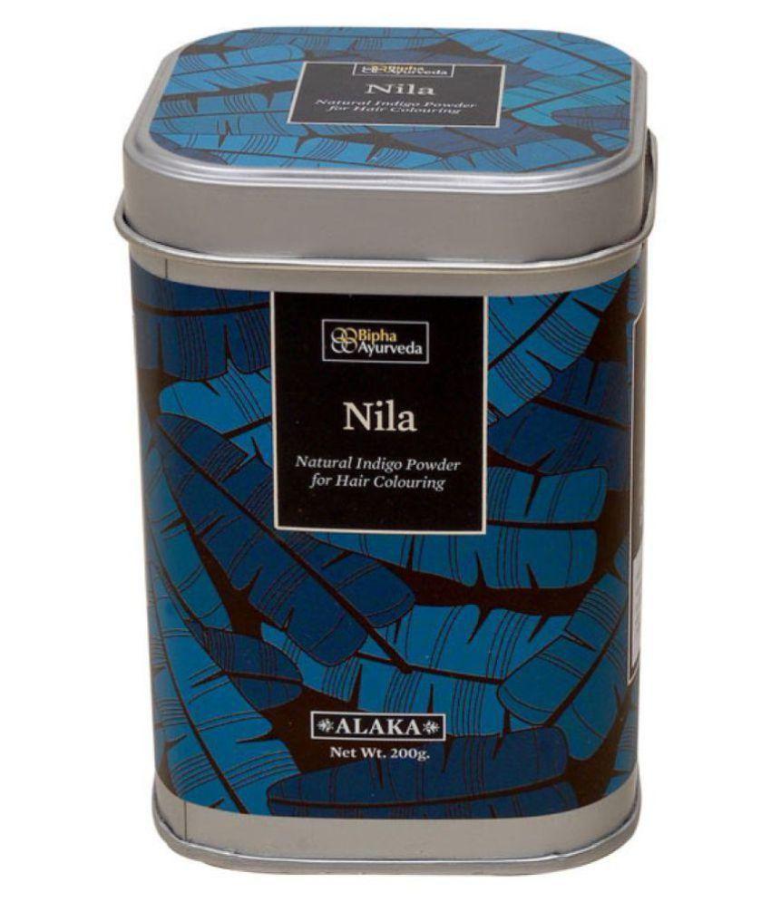Bipha Ayurveda Nila Indigo powder Temporary Hair Color Black 200 g