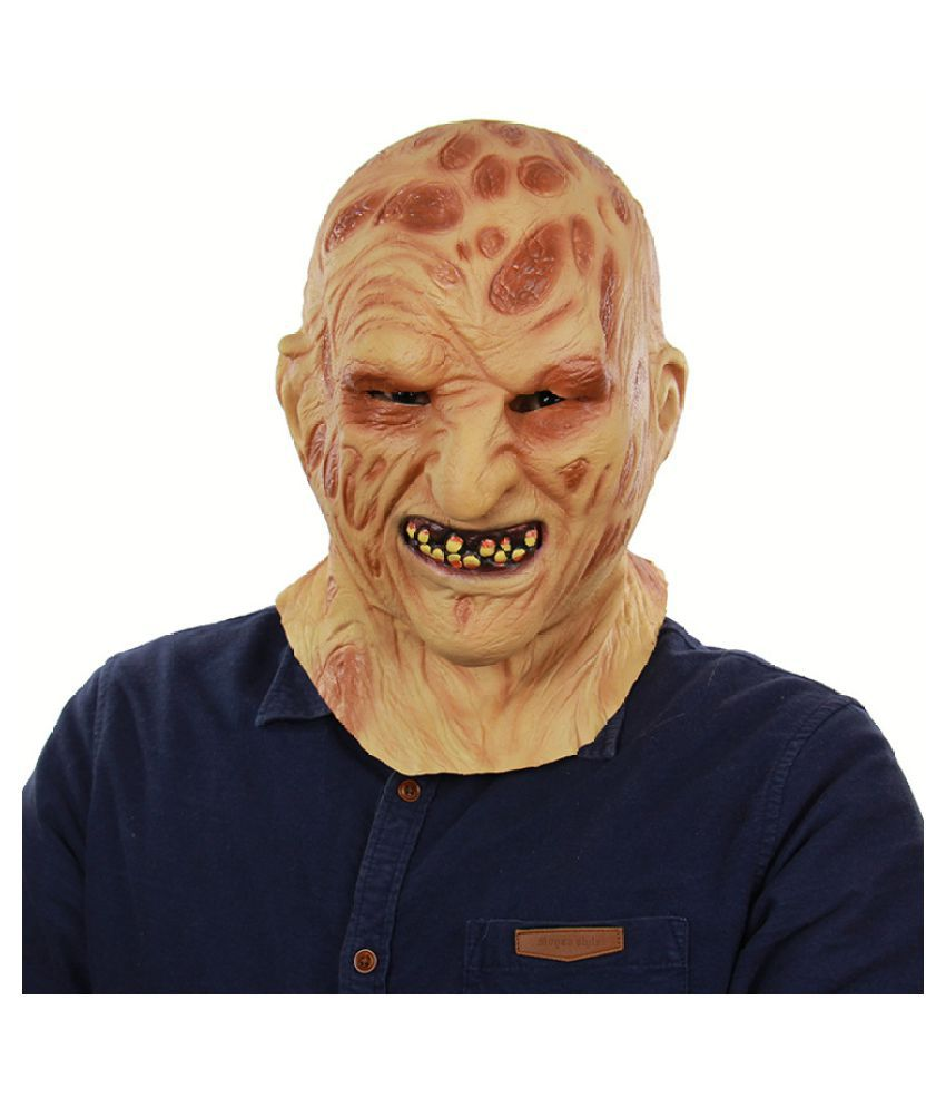 Bloody Zombie Mask Melting Face Latex Costume Walking Dead Halloween Scary New