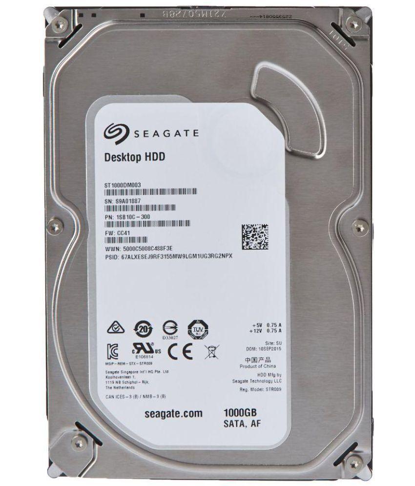 Seagate Products ST1000DM010 1 TB Internal Hard Drive Internal Hard drive