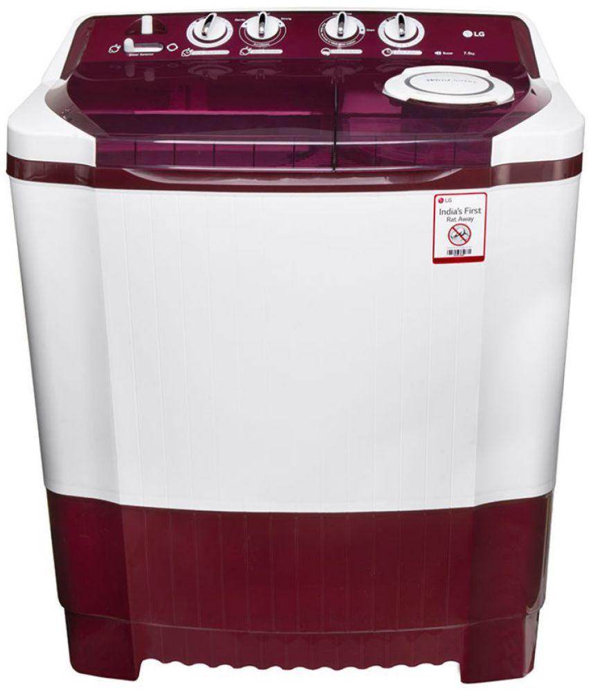 LG 7 5 Kg P8541R3SA Semi Automatic Semi Automatic Top Load Washing Machine