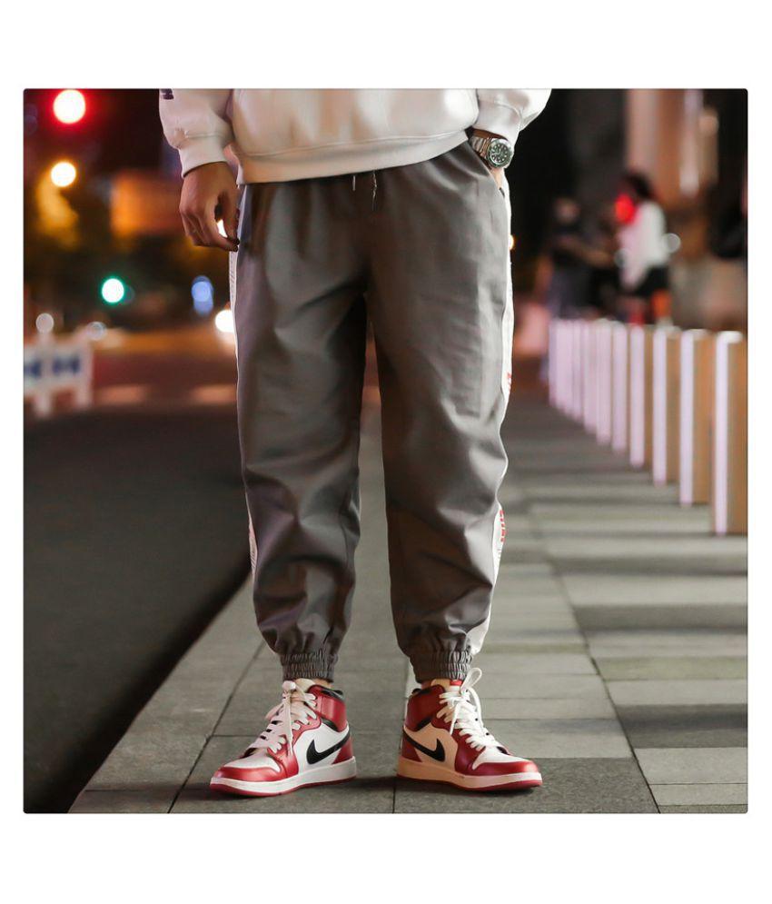Louis Sun Grey Regular -Fit Flat Trousers