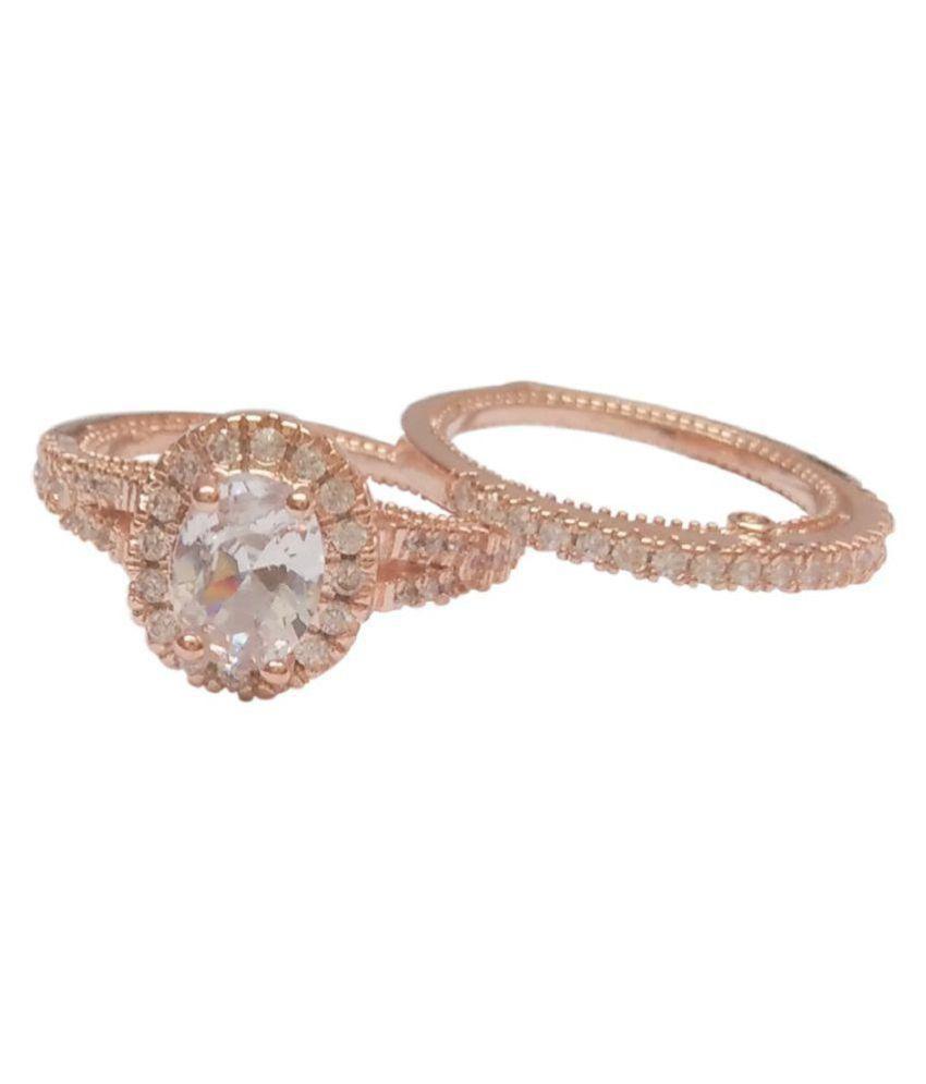Vorra Fashion 92.5 Silver Cubic zirconia Ring