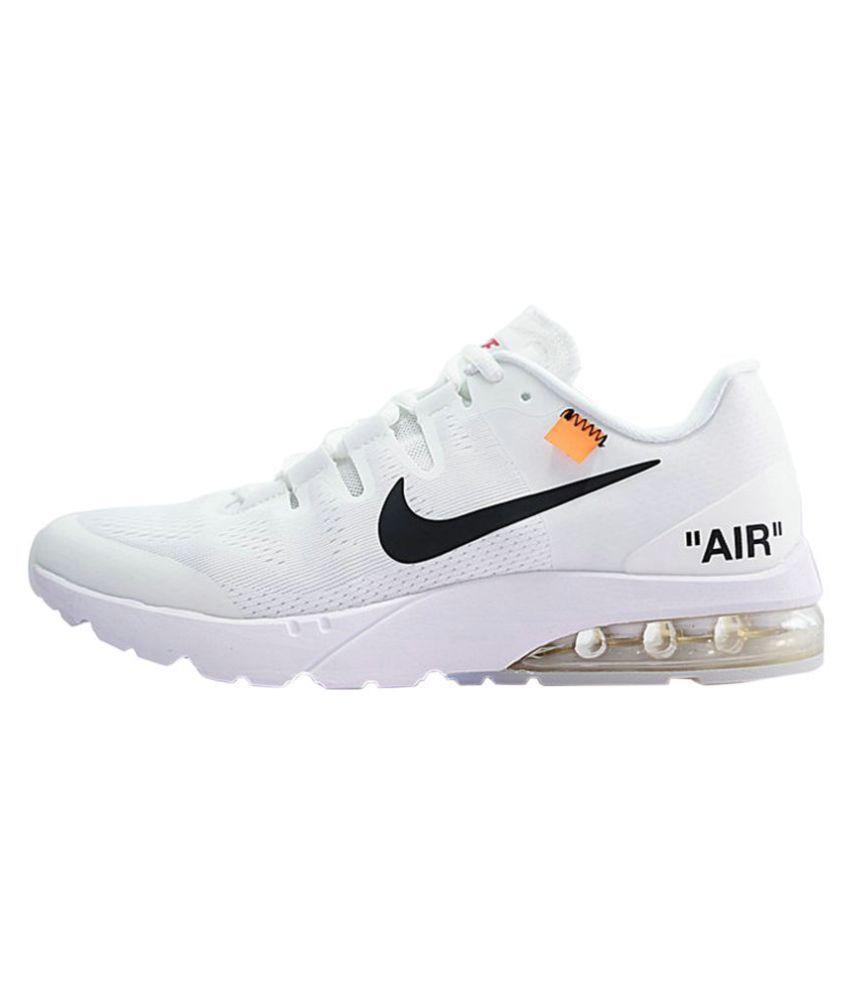 immagini ufficiali piuttosto bella nuovi arrivi Nike White Running Shoes