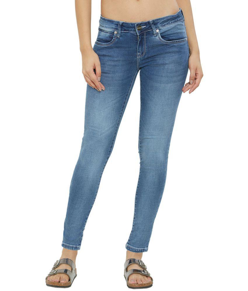 Soie Cotton Jeans - Blue