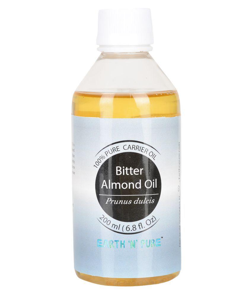 Earth N Pure bitter almond oil Carrier Oil 200 mL
