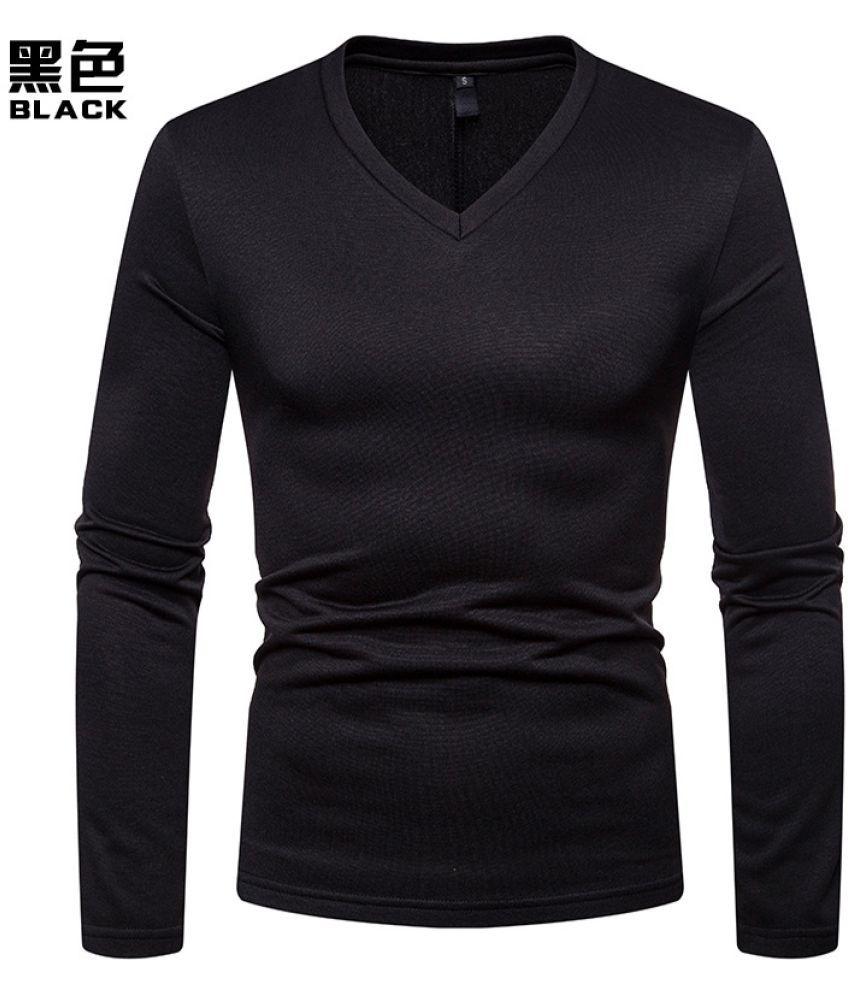 Epiphany Black Full Sleeve T-Shirt Pack of 1