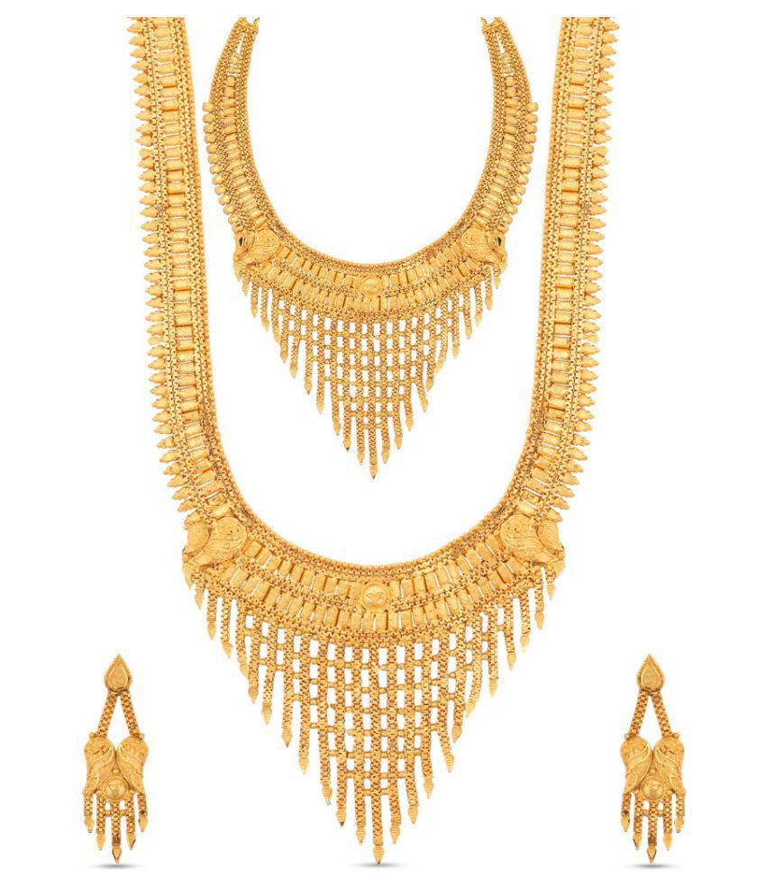 8f72bdfb61011 Kalyani Covering Necklace set Combo - Buy Kalyani Covering Necklace ...
