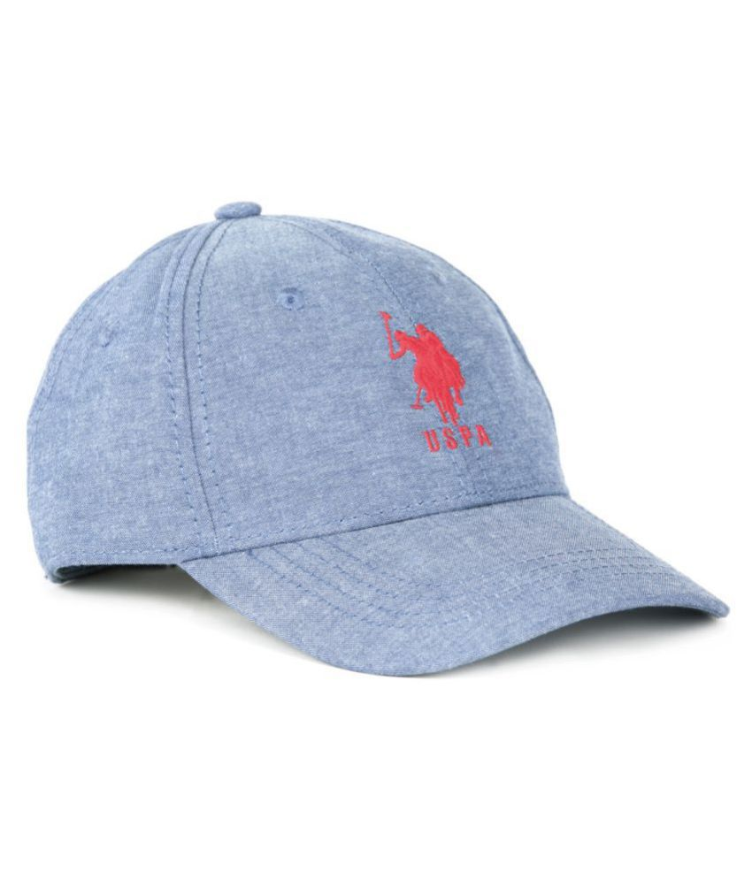 U.S. Polo Assn. Boys Blue Cap