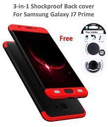 Samsung Galaxy J7 Prime Shock Proof Case JMA - Red Original Gkk 360° Protection .
