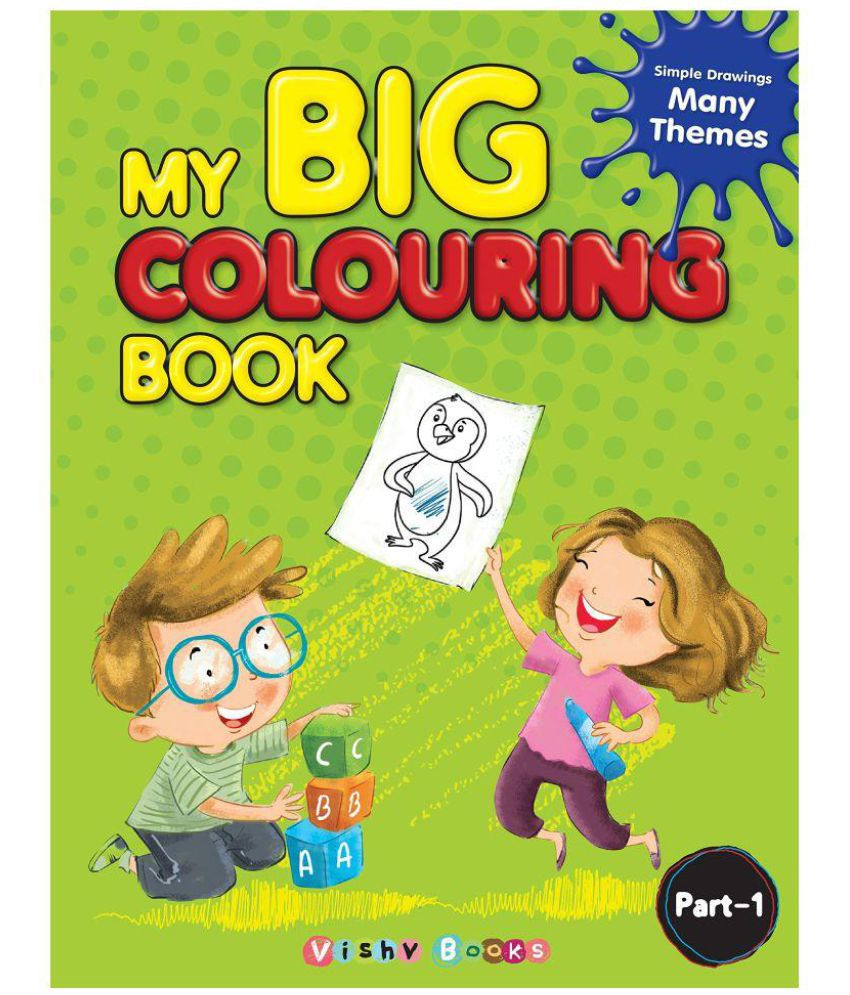 My Big Colouring Book Part-1: Buy My Big Colouring Book Part-1 ...