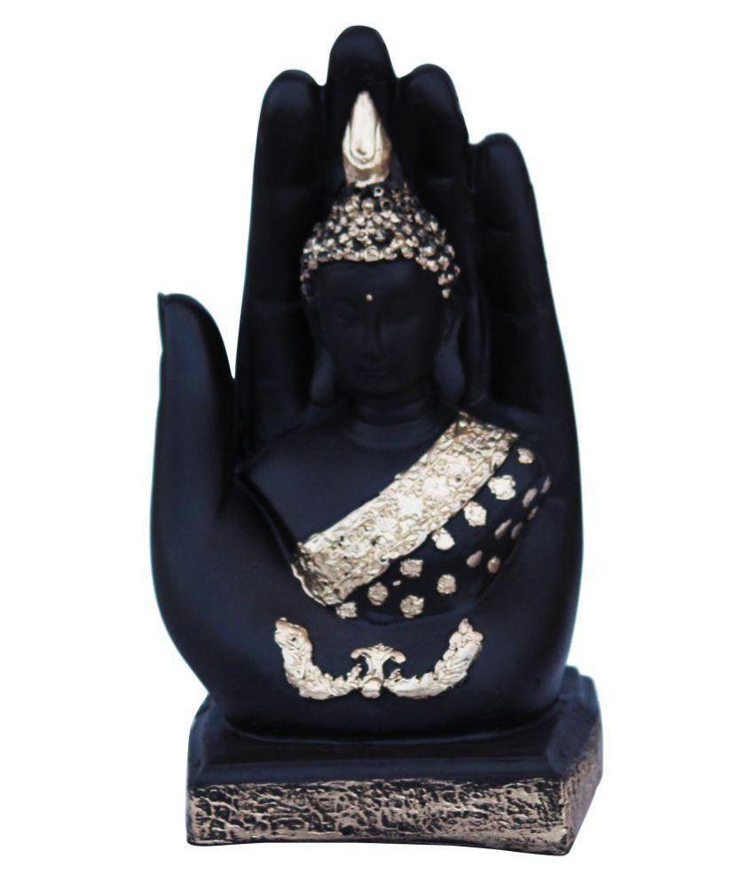 NYKO Handicrafts Buddha Polyresin Idol