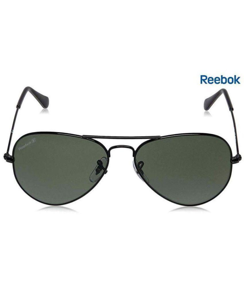 13cf98cbe219 Reebok Green Aviator Sunglasses ( Polarized- Green Lens, Black Frame ) - Buy  Reebok Green Aviator Sunglasses ( Polarized- Green Lens, Black Frame )  Online ...