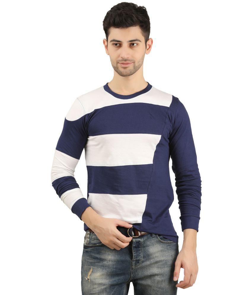 TRUS TEE Navy Full Sleeve T-Shirt Pack of 1
