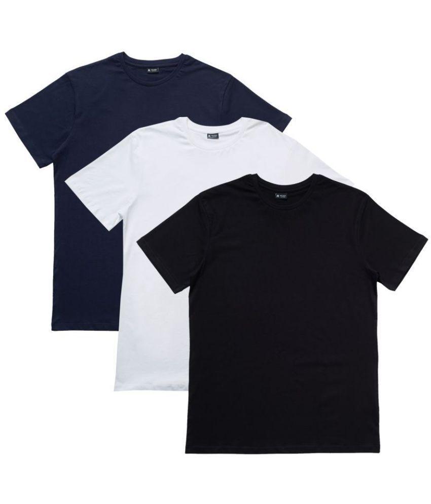 XYXX Multi Half Sleeve T-Shirt Pack of 3