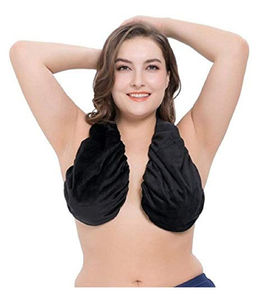 63bf7d86dc Buy Mpitude Velvet Bralette - Black Online at Best Prices in India -  Snapdeal
