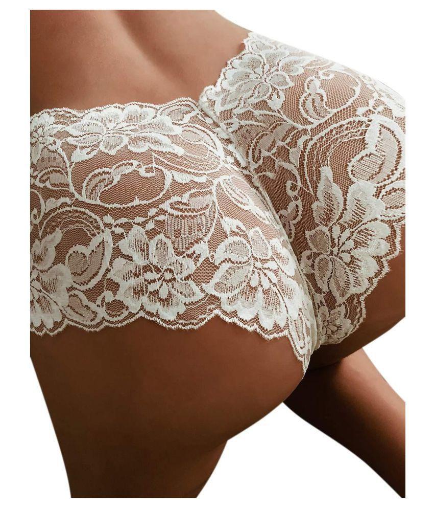 Generic Lace Nightsuit Sets - Off White