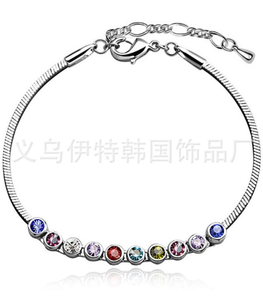 Austrian Crystal Jewelry  Of Fine Bracelet Can Be Used As A Foot Chain For Ten Years 4406-58
