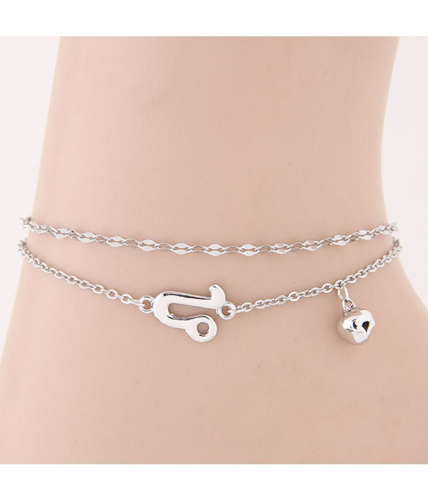 Classic Fashion Sweet 12 Constellation Accessories Personality Ladies Foot Chain - Aries