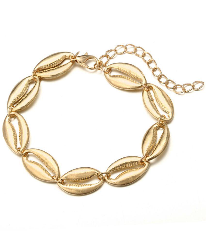 Fashion Beach Accessories Bracelet Bohemian National Style Shell Alloy Ankle Bracelet Jewelry Women