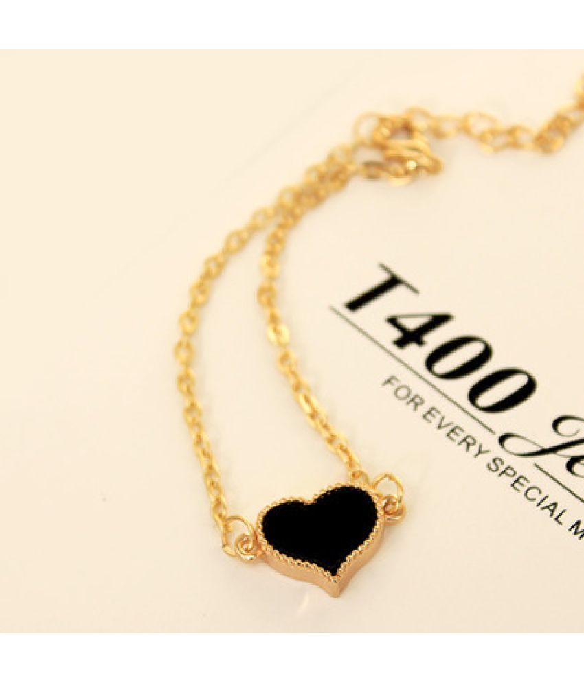 Jewelry Love Four-Leaf Grass Simple Bracelet Anklet Version Sweet Fashion Accessories Women