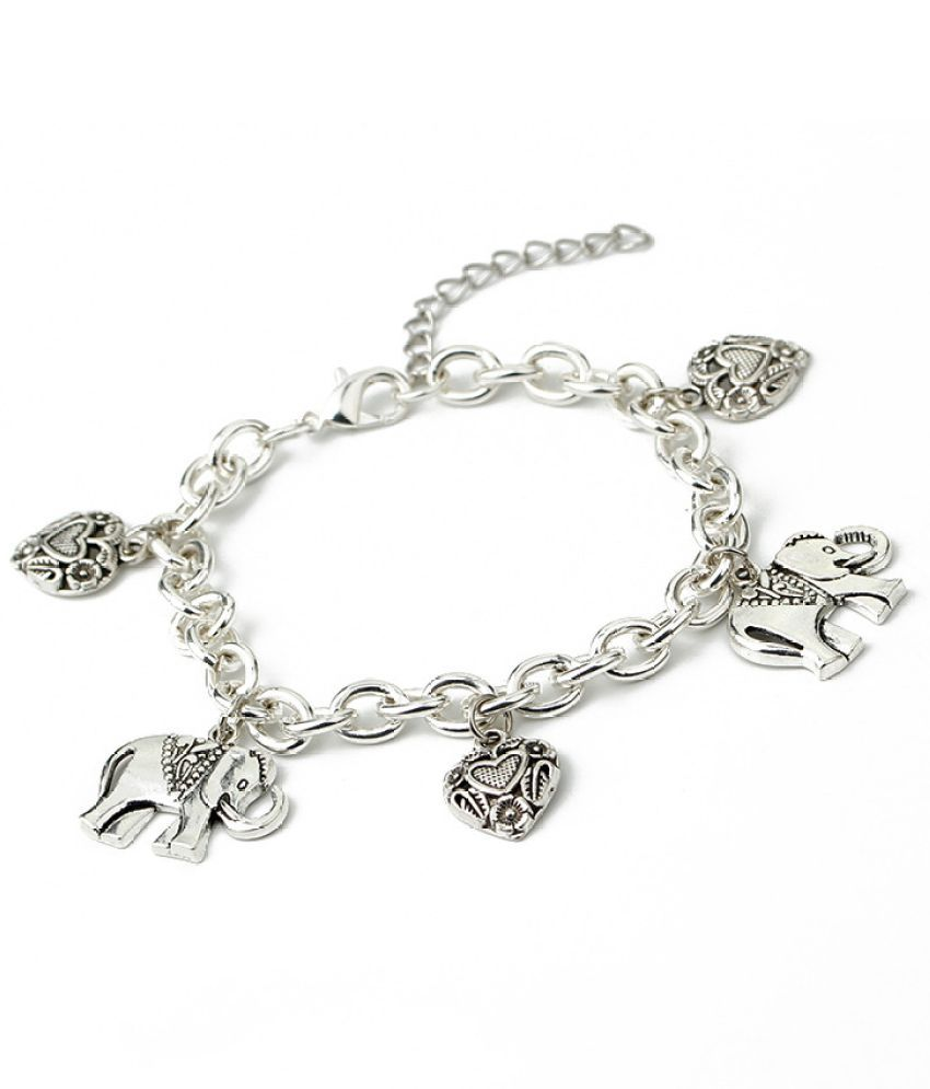 New Fashion Accessories Personalized Retro Carving Love Elep T Alloy Chains Quick Hot