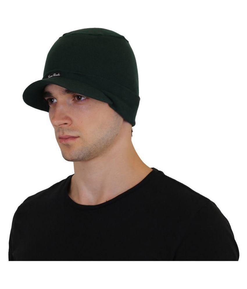 Goodluck Green Wool Caps