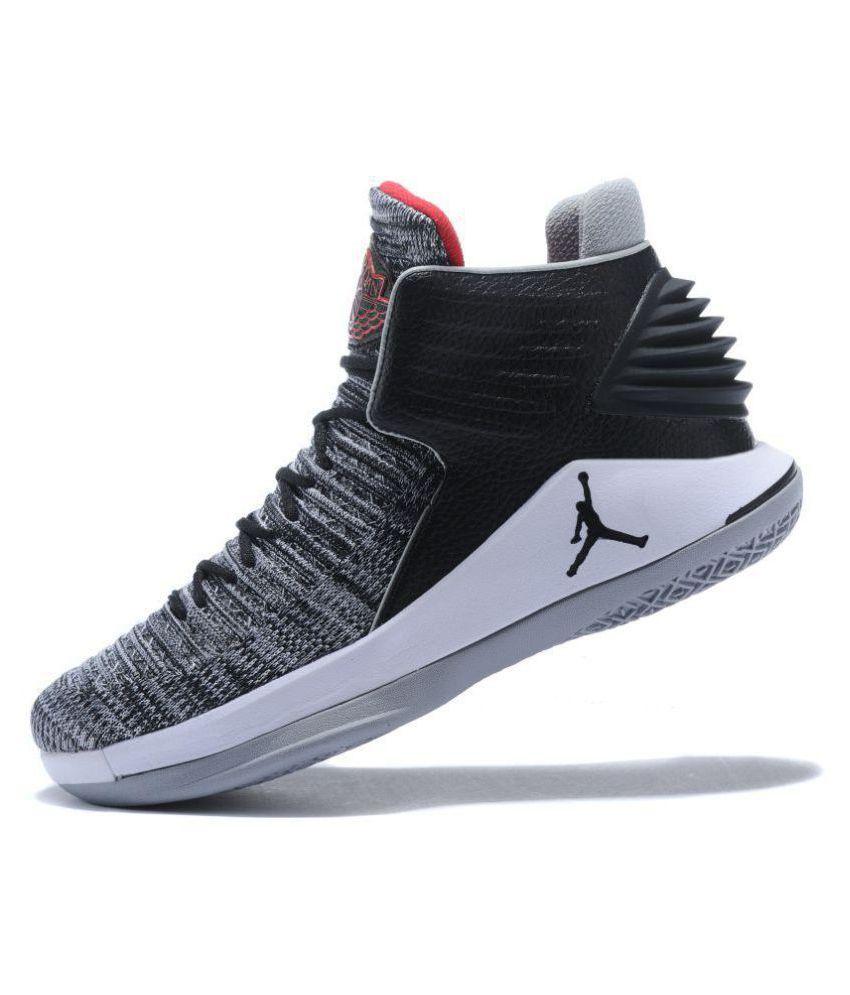 d2def460344e Nike Air Jordan XXXII Gray Basketball Shoes - Buy Nike Air Jordan ...