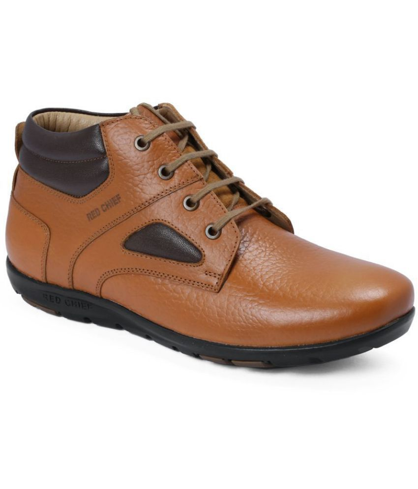 Red Chief Brown Casual Boots