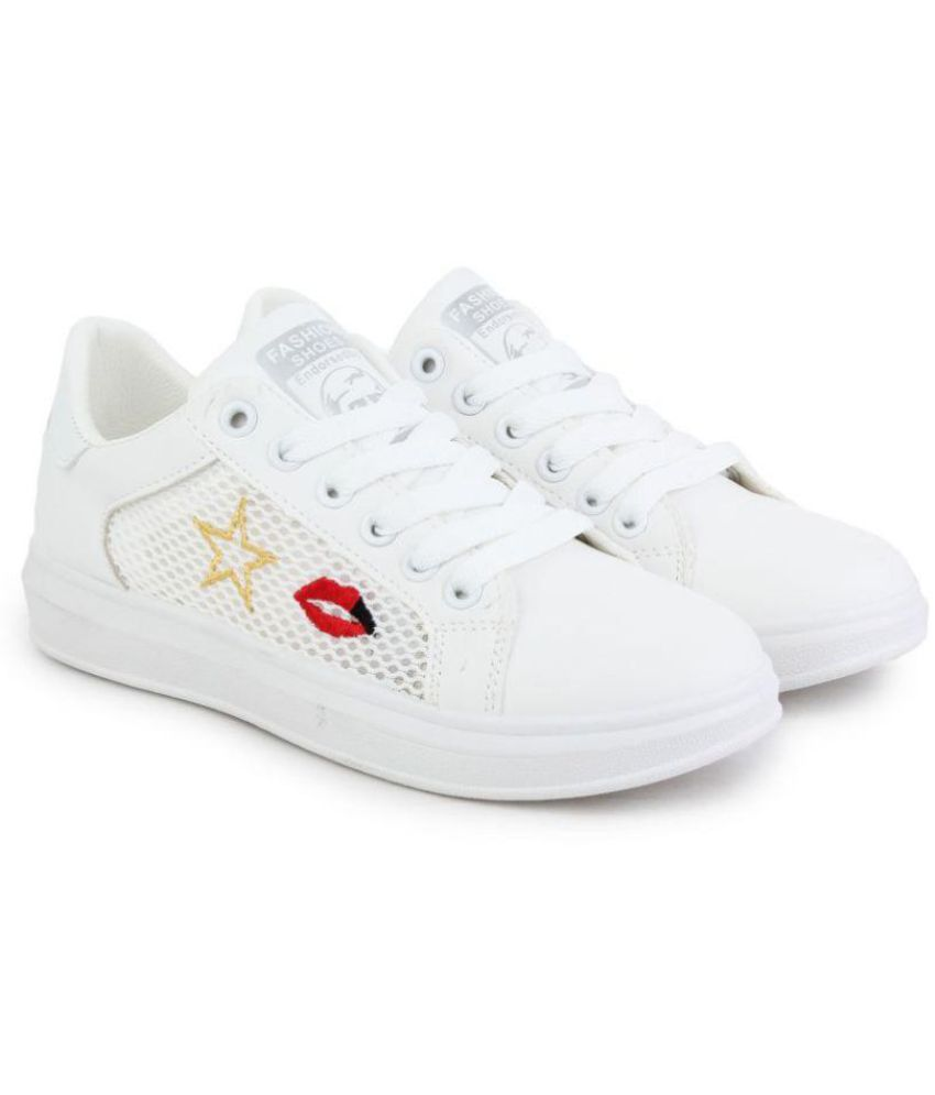 ZOOTO White Casual Shoes