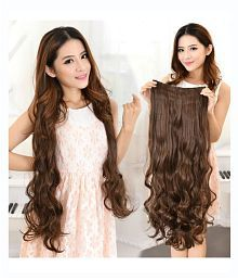 myasa Brown Casual Hair Extension