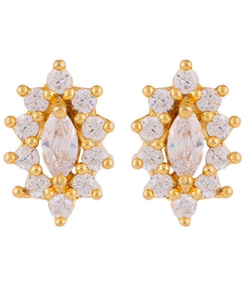Voylla CZ Twinkle Stud Earrings For Women