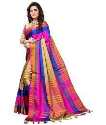7f4c832b65318 Cotton Silk Saree Upto 80% OFF  Buy Cotton Silk Saree Online - Snapdeal