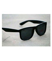 Devil Eyes Black Wayfarer Sunglasses ( 4165 )