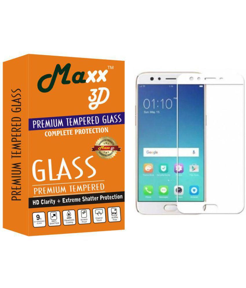 Oppo F3 3D Glass Screen Guard By MAXX3D