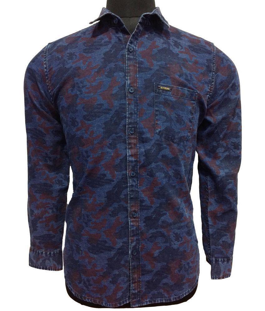 d8088f93122 Speak Denim Shirt - Buy Speak Denim Shirt Online at Best Prices in India on  Snapdeal