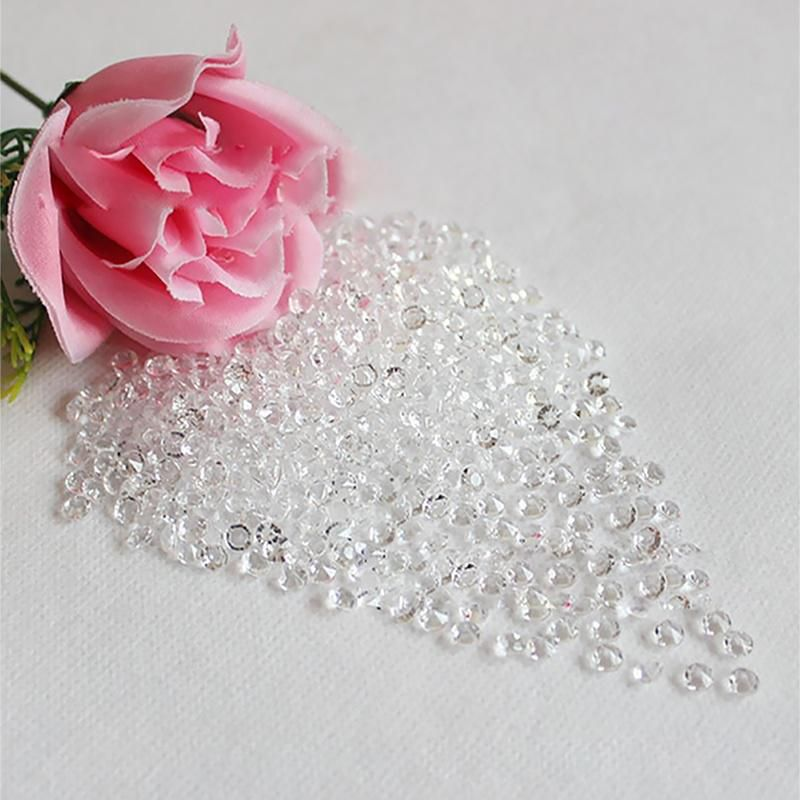 1000PCS Diamond Strand Acrylic Crystal Bead Curtain Wedding DIY Party Decor