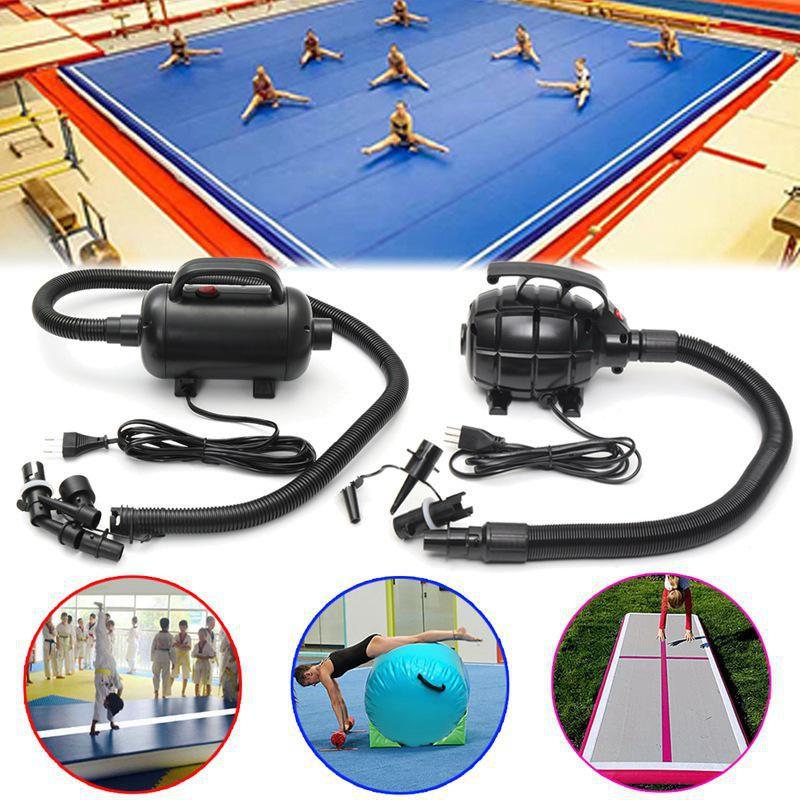100x85CM Inflatable Gymnastics Mat Air Rolls Balance Training Roller Beam Gym