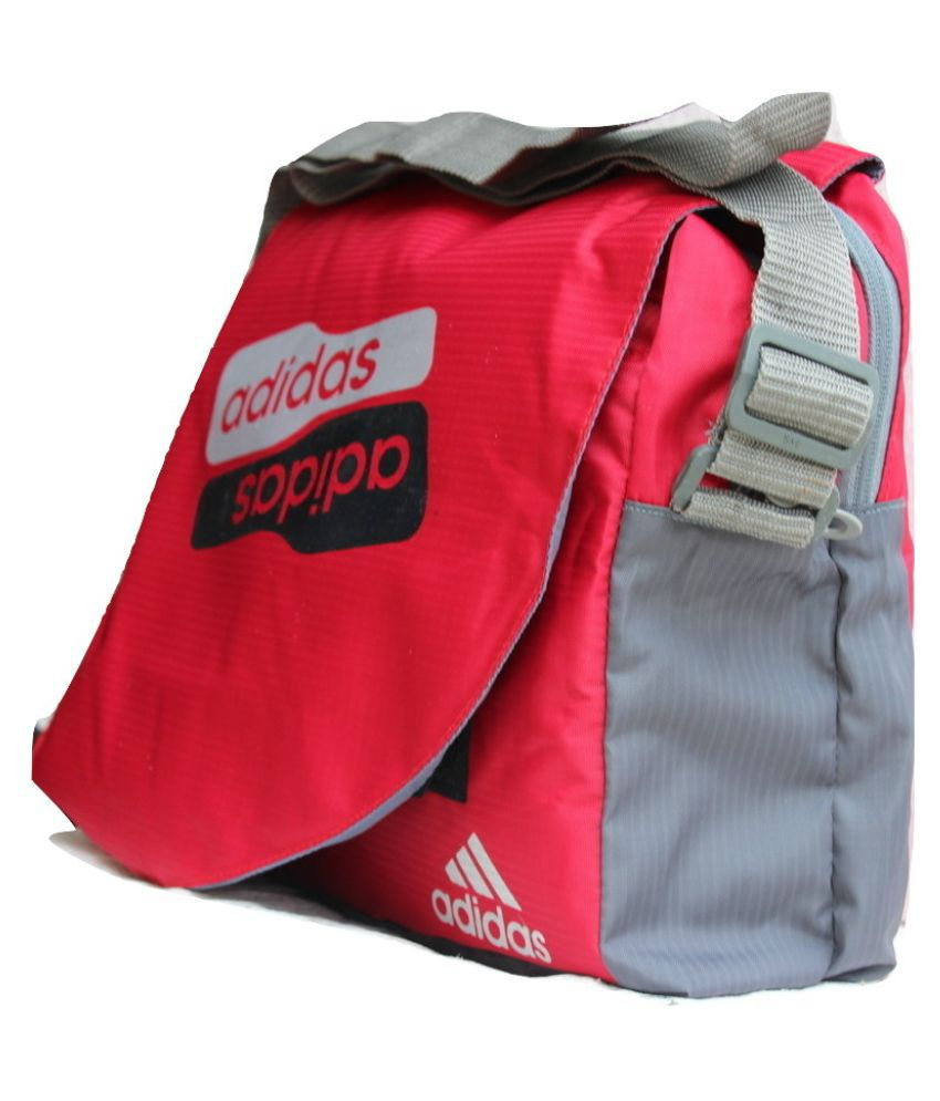 ... Adidas Latest Trendy Stylish Bag for School College Other Red Nylon  Casual ... 8febf4155e4c1