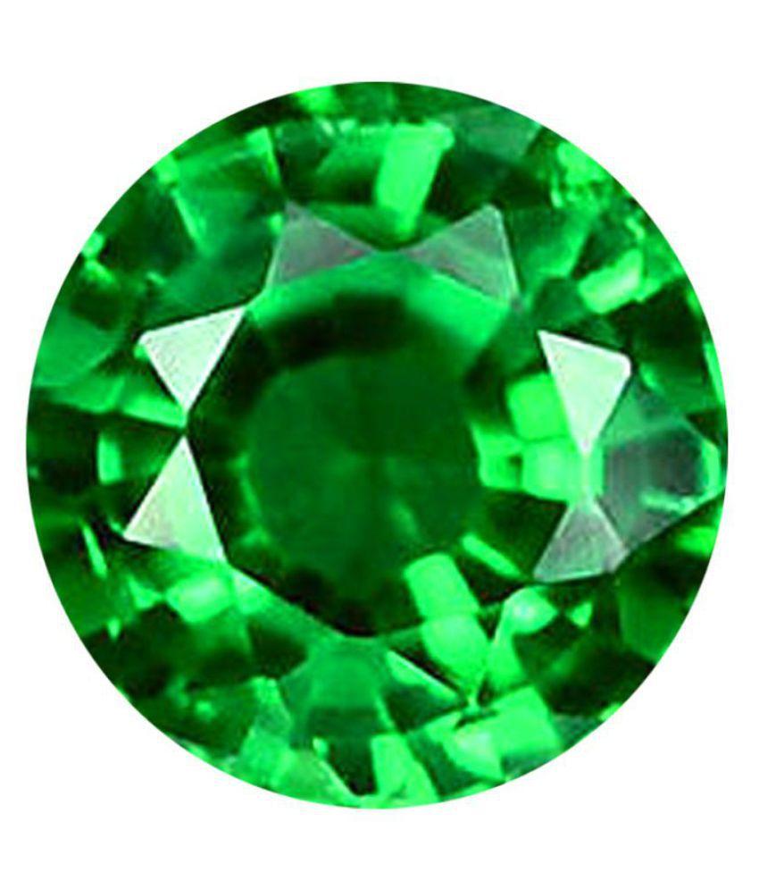 Color Gems Beautiful Natural 5.25 Ratti Green Gemstone