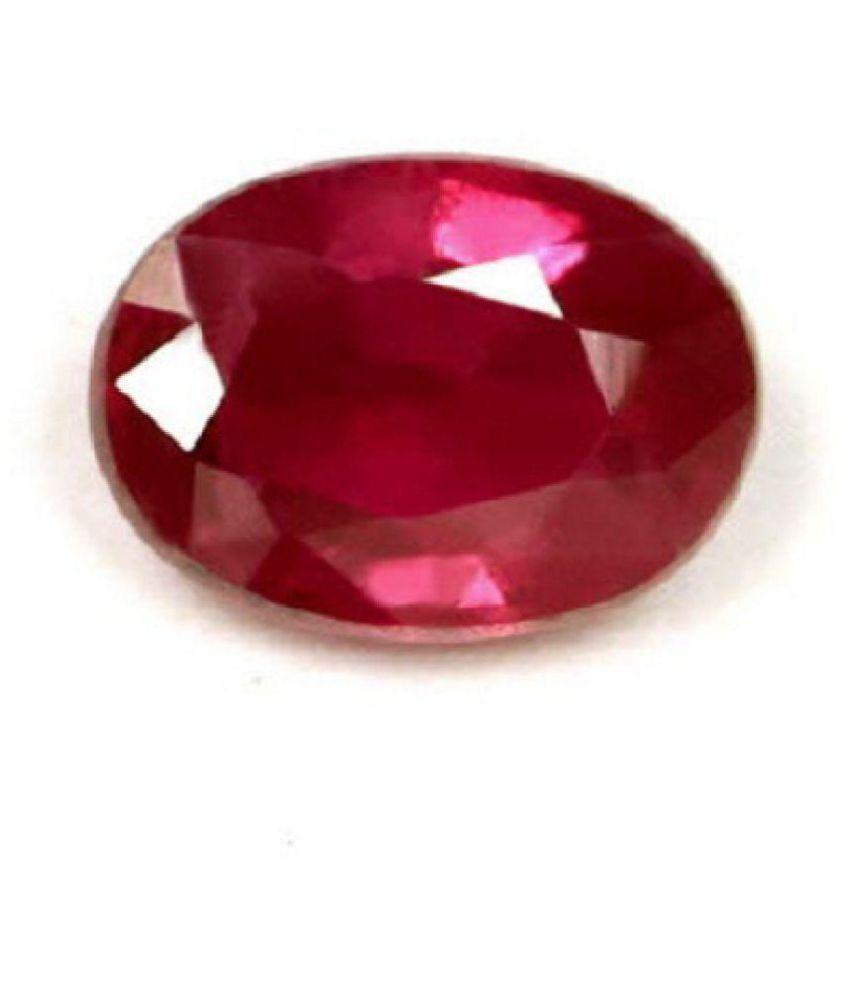 Astro Cart 5.75 -Ratti IGL Pink Ruby Precious Gemstone