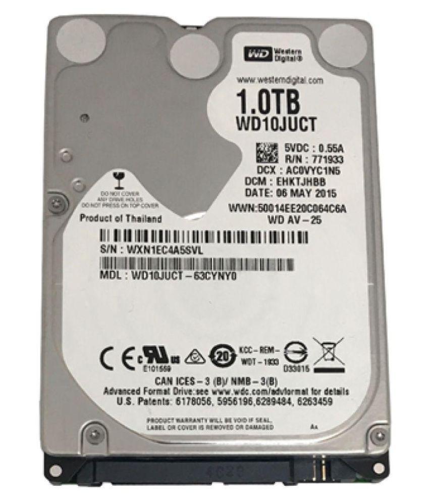 WD WD10JUCT 1 TB Internal Hard Drive Internal Hard drive