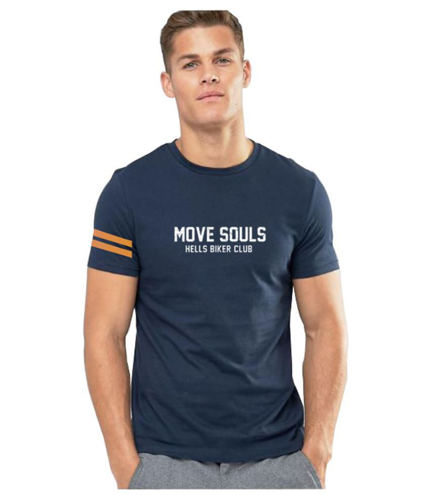 3point0 Navy Half Sleeve T-Shirt Pack of 1