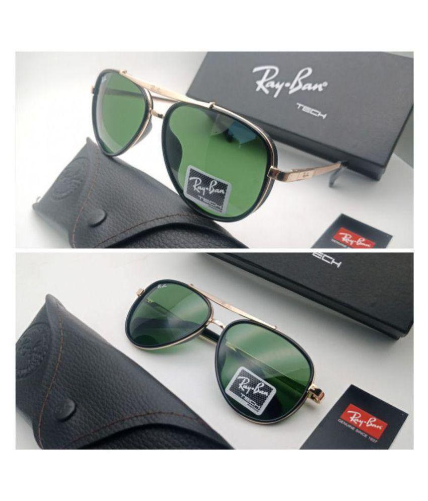 173e357a657 Ray Ban Avaitor Green Aviator Sunglasses ( 4413 )