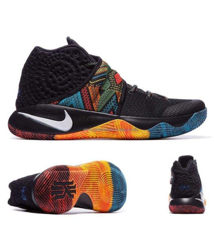 timeless design ac1ca 4c023 ... Nike kyrie 2 BHM Multi Color Basketball Shoes