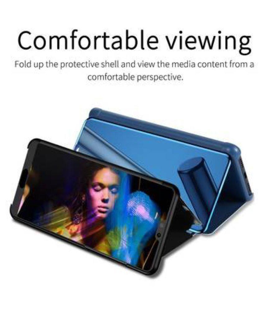 Samsung J7 Max Flip Cover by Mercury - Blue