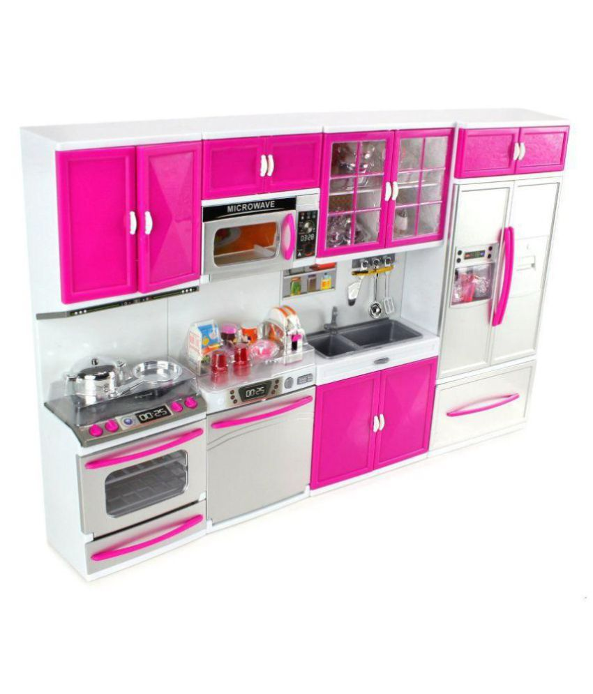 Kitchen Set Lighting: Latest Barbie Dream House Kitchen Set Light & Sound
