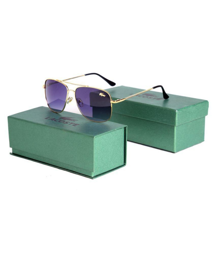 720c9e418b2f LACOSTE SUNGlASS Black Rectangle Sunglasses ( V435 ) - Buy LACOSTE ...