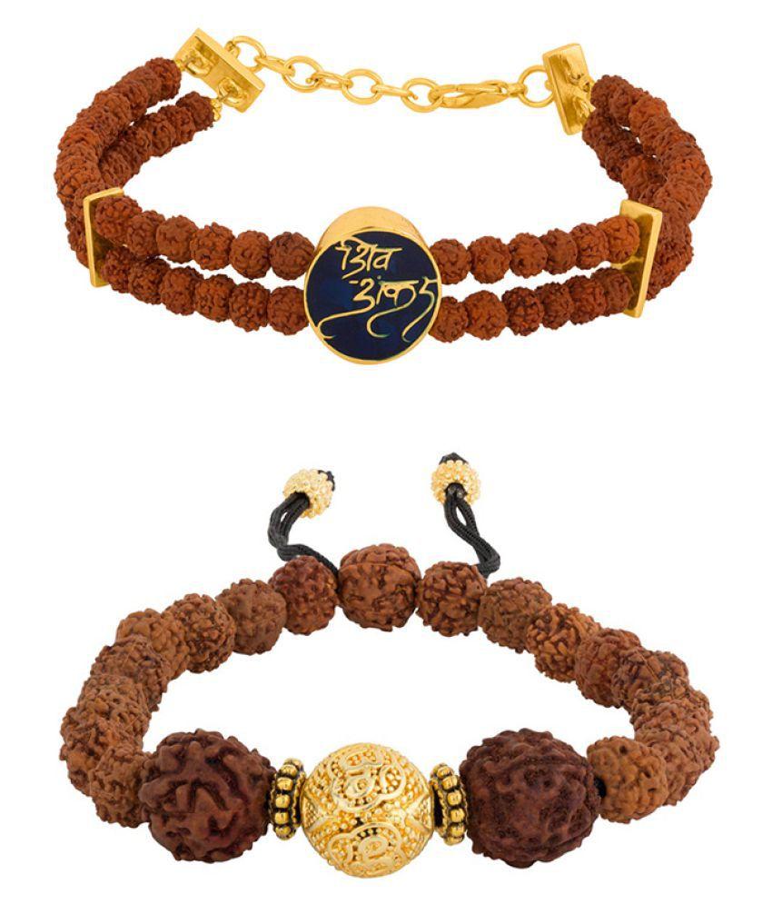 Voylla Gold Brass & Copper etc Bracelets