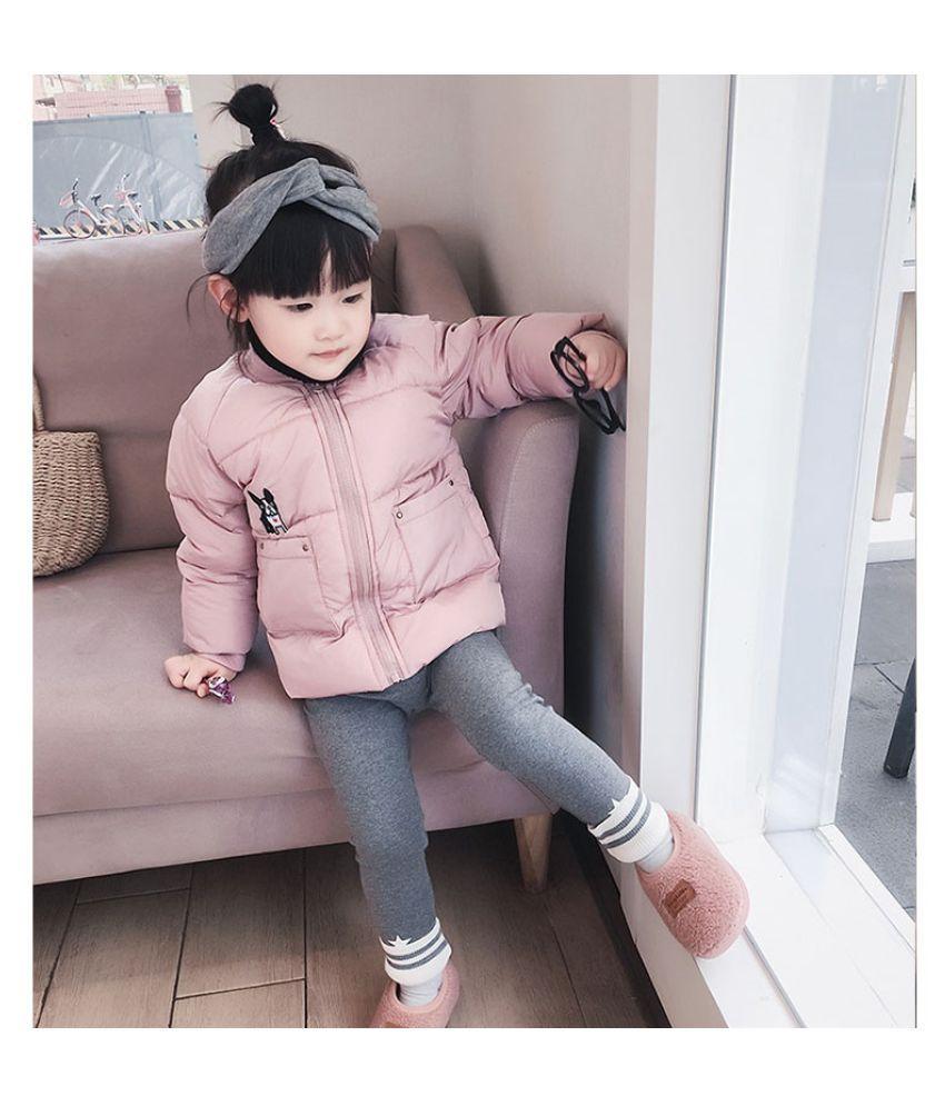 5 color Winter Boy  Girls Down Jacket Children's Warm Coat Cotton Padded Coats Kids  Windproof  Jackets